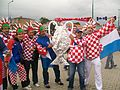 Croatian supporters before Croatia - Italy match, Poznań, June 14, Euro 2012 2.JPG