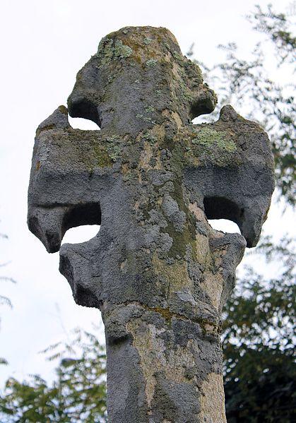 Croix du chemin de Coëtcandec: détail face ouest