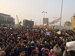 Crowd in Midan El-Tahrir