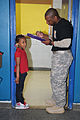 Crusader soldiers continue Boys and Girls Club partnership 140227-A-BZ612-002.jpg