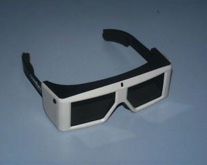 Active shutter 3D system - A pair of CrystalEyes shutter glasses