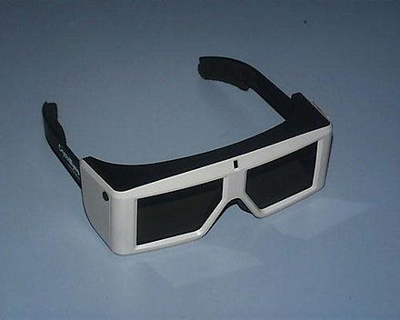 0e9b812b4649 A pair of CrystalEyes shutter glasses