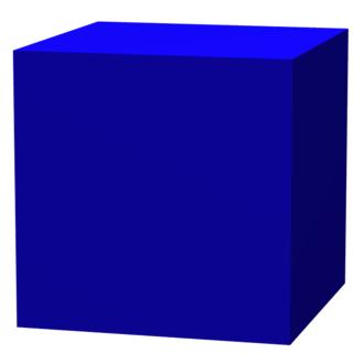 Octagram - Image: Cube truncation 0.00