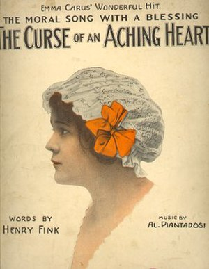 Al Piantadosi - Image: Curse Of An Aching Heart 1913
