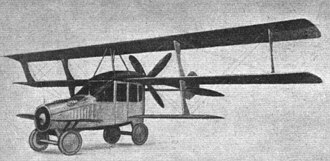 Curtiss Autoplane - Autoplane as shown at Pan-American Aeronautical Exposition of 1917