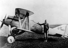 Curtiss CR i Bert Acosta, 1921