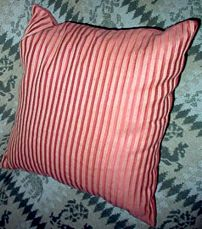 A decorative head pillow