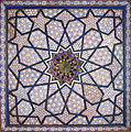 Décor de la mosquée Khodja Akhrar (Samarcande, Ouzbékistan) (5646850919).jpg