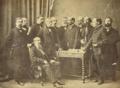 D. Miguel I com a sua comitiva (3.º quartel do século XIX).png