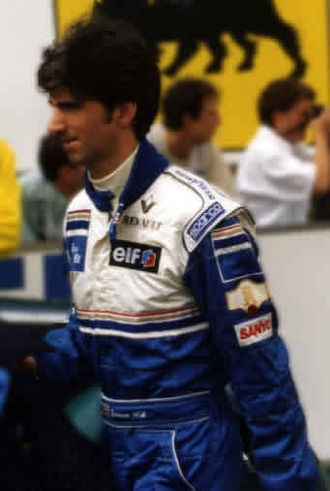 1995 Japanese Grand Prix - Damon Hill was criticised by the British media after poor performances
