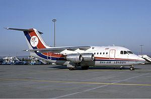 Dan-Air BAe 146-100 Marmet.jpg