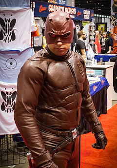 Daredevil cosplay at C2E2 2012