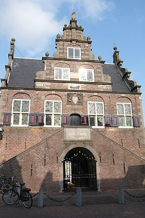Jan Leeghwater - City hall of Graft-De Rijp, designed by Leeghwater in 1630