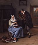 De koekvrijer door Jan Steen.jpg