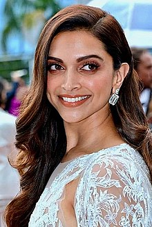 Deepika Padukone is seen smiling at the camera