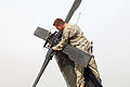 Defense.gov News Photo 100415-A-4830W-014 - A U.S. Army soldier performs a pre-flight system check on a Black Hawk helicopter before a flight at Forward Operating Base Fenty Kunar province.jpg