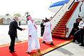 Defense.gov News Photo 110312-D-XH843-009 - Secretary of Defense Robert M. Gates prepares to board his plane in Bahrain on March 12, 2003.jpg