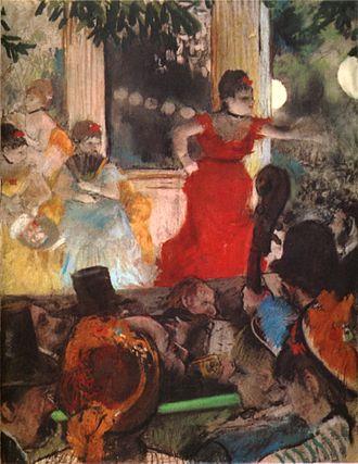 Le Chahut - Image: Degas Café Concert at Les Ambassadeurs 1876 77