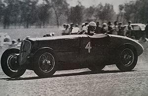 1949 Australian Grand Prix - The race winning Delahaye 135MS of John Crouch at the 1949 Australian Grand Prix