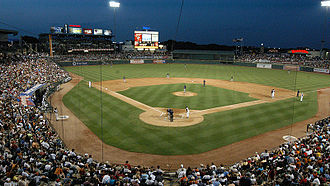 Dell Diamond - The Dell Diamond is the home field for the Round Rock Express