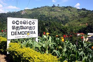 Demodara Place in Uva, Sri Lanka