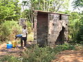 Demolished toilet in Livingstone (3233255953).jpg