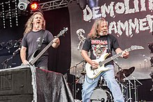 Demolition Hammer at Party.San Metal Open Air 2017