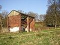 Derelict building near the five-rise locks, Bingley - geograph.org.uk - 388278.jpg