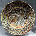 Deruta, piatto con ercole e l'idra di lerna, 1530-40 ca..JPG