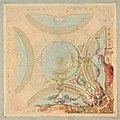 Design for a ceiling with garland bearing putti MET DP811656.jpg