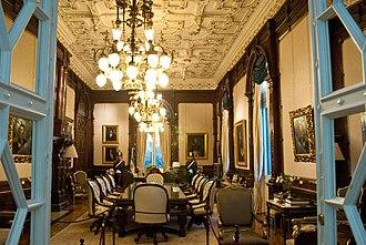 President of Argentina - Image: Despacho Presidencial I