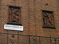 Detail in the brickwork above street sign for South Street - geograph.org.uk - 1089863.jpg