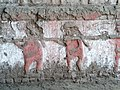 Detall dels Gravats dels murs superposats del Templo Viejo de la Huaca de la Luna.jpg
