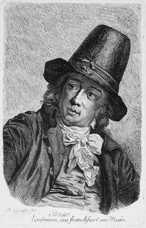Zelienople, Pennsylvania - Dettmar Basse (Anton Graff, c. 1792)