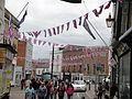 Diamond Jubilee bunting in Cowes High Street 5.JPG