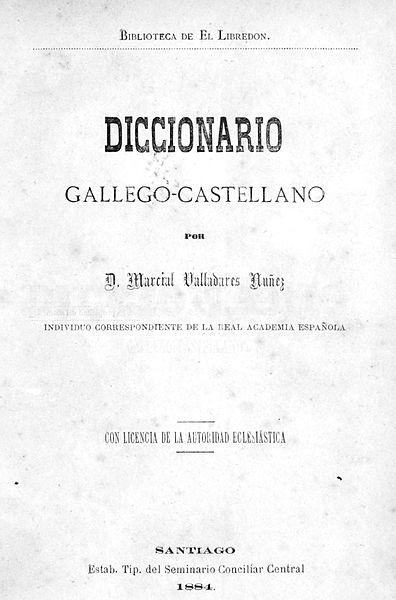 diccionario gallego: