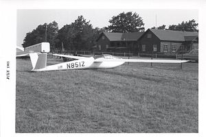 Richard Schreder - Dick Schreder's HP-11 at the 1963 US Soaring Championships at Harris Hill, Elmira, NY.