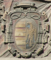 Diego de Tavera Ponce de León (RPS 27-07-2015) escudo en Palacio Episcopal de Jaén.png