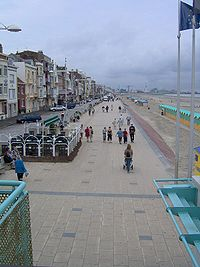 Dunkirk's seafront