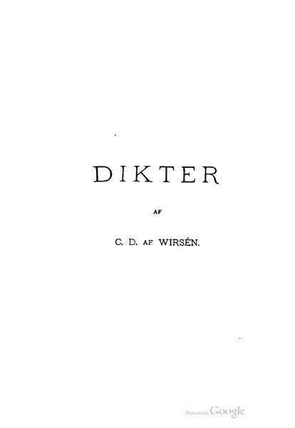 File:Dikter (af Wirsén).djvu