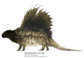 "Dimetrodon grandis in ""high walk"" pose.png"