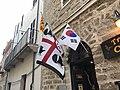 Divers drapeaux à Alghero.JPG