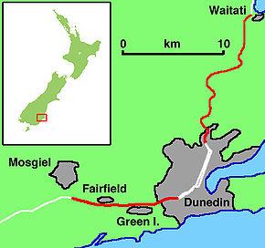 Dunedin Southern Motorway Wikipedia