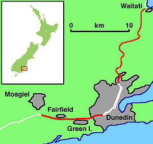Dunedin Southern Motorway