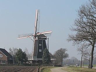 Benninkmolen, Doetinchem - The mill in March 2011