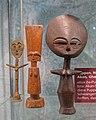 Dolls, Akan people, Ghana, bronze, wood - Naturhistorisches Museum Nürnberg - Nuremberg, Germany - DSC03926.jpg
