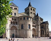 Trier Cathedral, left, and the Gothic Church of Our Lady.