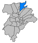 Dommeldange quarter highlighted.png