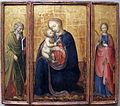 Donato de' bardi, madonna col bambino tra i santi filippo e agnese, 1425-30.JPG