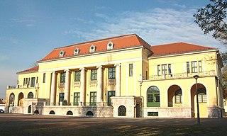 Dorog Town in Komárom-Esztergom, Hungary